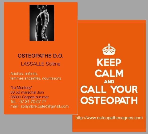 Préférence Bienvenue - Solène Lassalle Ostéopathe D.O. KX81